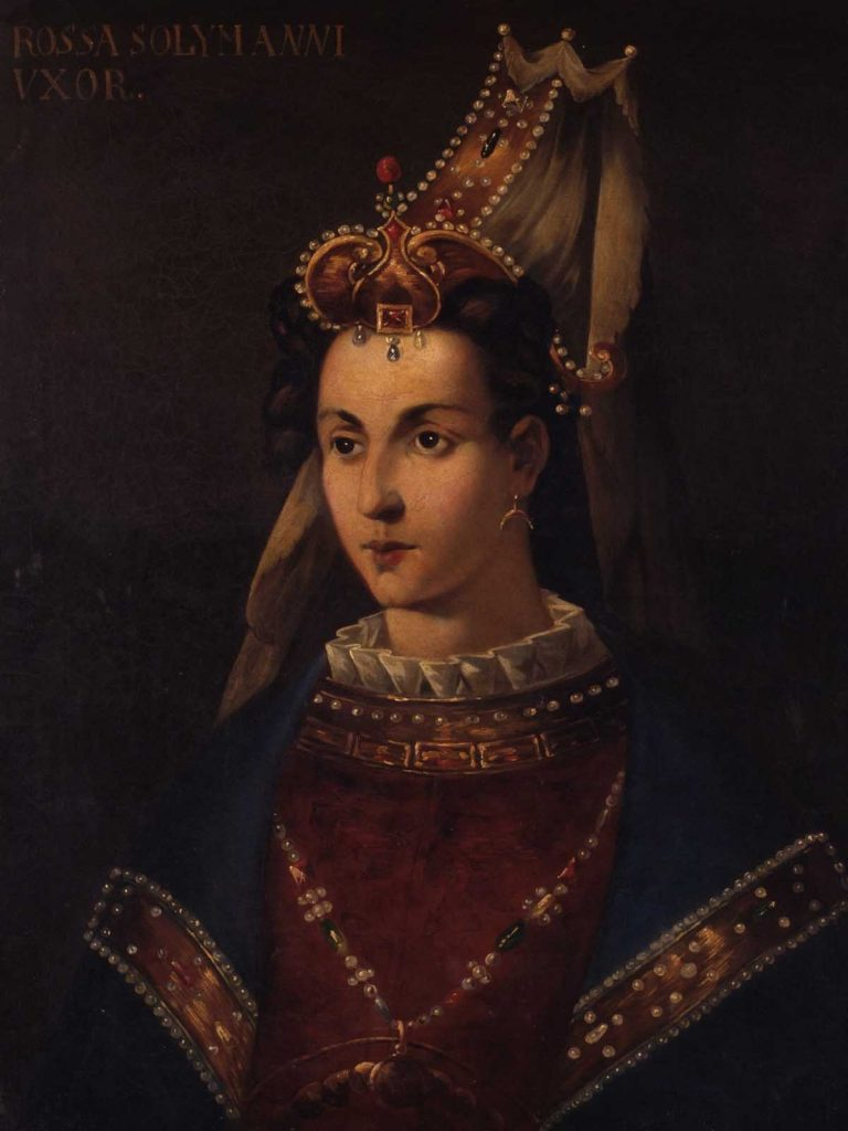 Roxelena Hurrem Sultan Rossa Solymanni Vxor